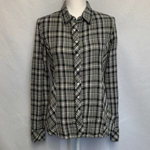 Aventura Western Style Long Sleeve Button Down Top